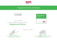 APC by Schneider Electric  - Registered Partner